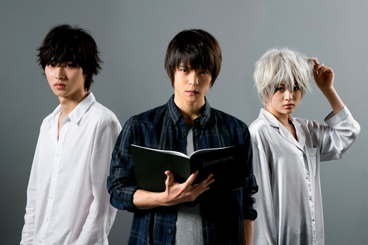Death Note : Bild Kento Yamazaki, Masataka Kubota, Mio Yûki