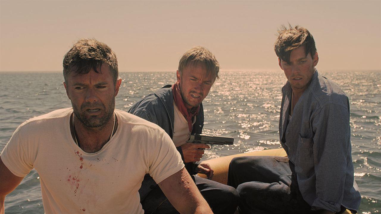 Against the Sun : Bild Garret Dillahunt, Jake Abel, Tom Felton