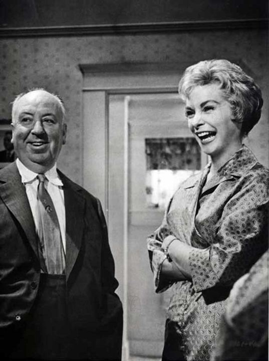 Psycho : Bild Alfred Hitchcock, Janet Leigh