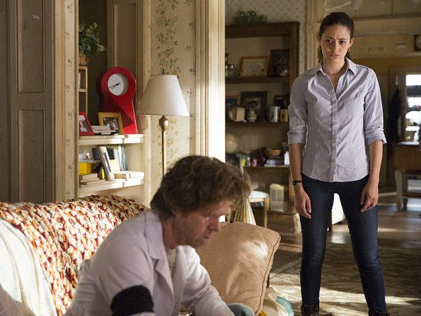 Bild Emmy Rossum, William H. Macy