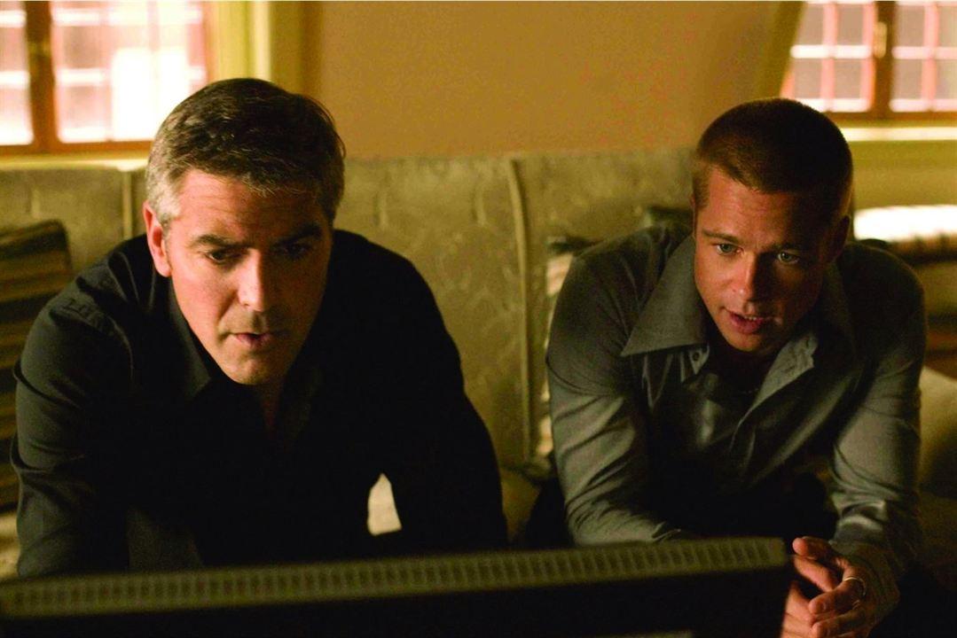 Ocean's Twelve: Brad Pitt, George Clooney