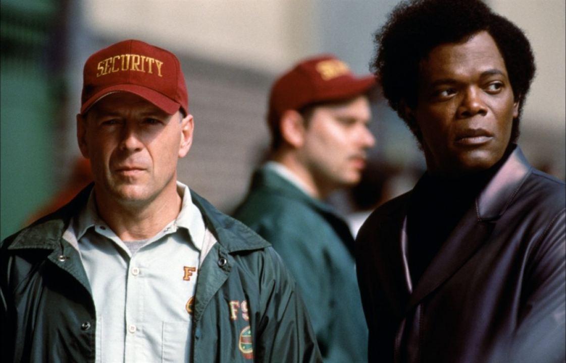 Unbreakable - Unzerbrechlich: Samuel L. Jackson, Bruce Willis
