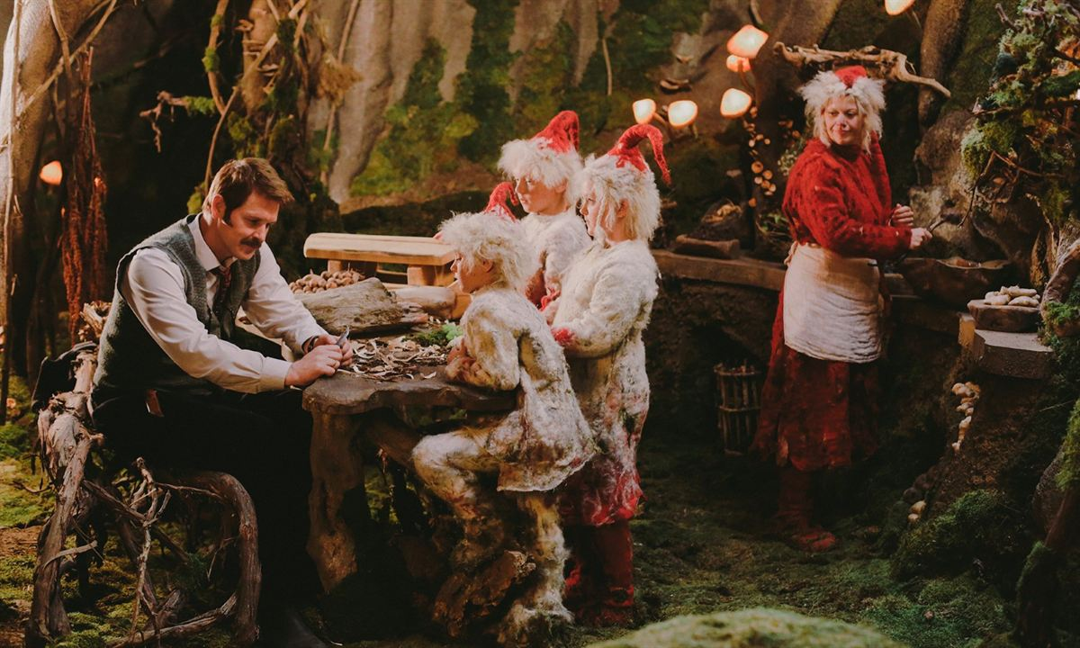 Plötzlich Santa : Bild Filip Lubbock-Myrseth, Jan Oscar Juvkam Wiedom, Johanna Mørck, Rebecca Skogly, Trond Espen Seim