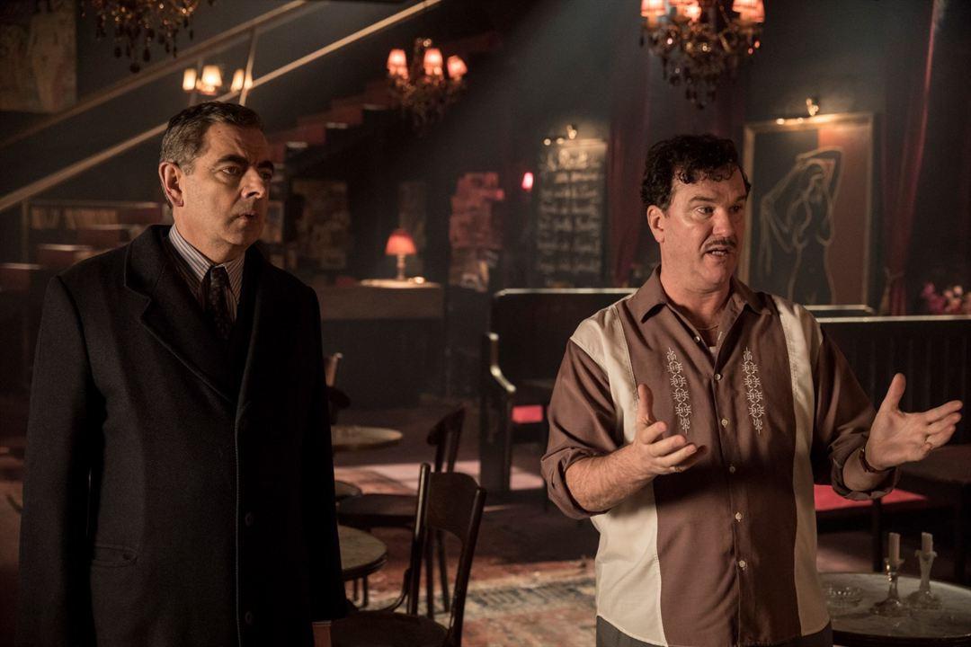 Kommissar Maigret: Die Tänzerin und die Gräfin : Bild Douglas Hodge, Rowan Atkinson