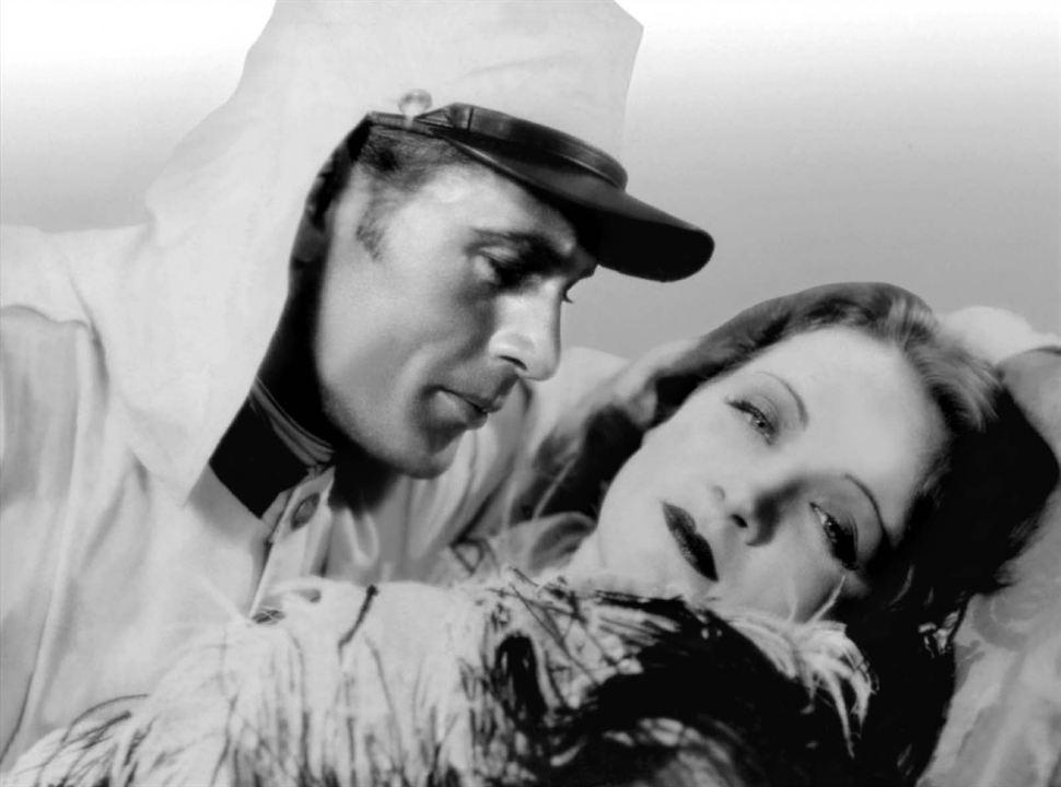 Marokko : Bild Gary Cooper, Marlene Dietrich