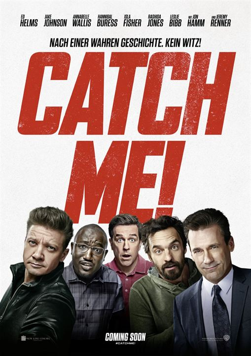 Catch Me! : Kinoposter