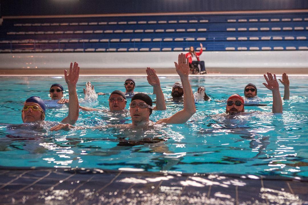 Ein Becken voller Männer : Bild Alban Ivanov, Balasingham Thamilchelvan, Benoît Poelvoorde, Félix Moati, Guillaume Canet