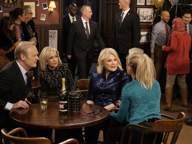 Bild Andrea Mitchell, Candice Bergen, Lawrence O'Donnell