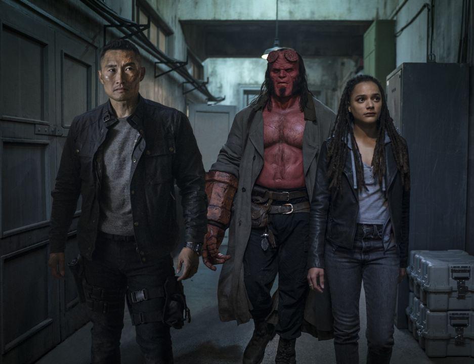 Hellboy - Call Of Darkness : Bild Daniel Dae Kim, David Harbour, Sasha Lane