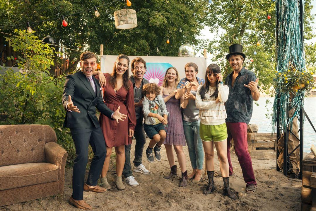Rate Your Date : Bild Alicia von Rittberg, Anke Engelke, Edin Hasanovic, Frederik Götz, Marc Benjamin