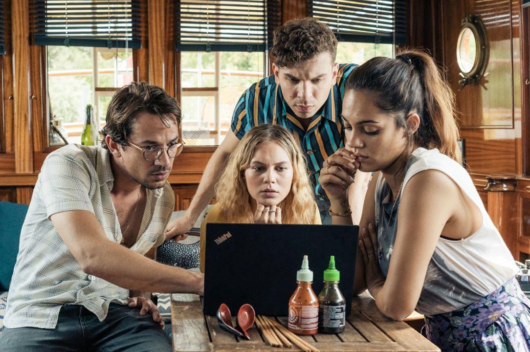 Rate Your Date : Bild Alicia von Rittberg, Edin Hasanovic, Marc Benjamin, Nilam Farooq