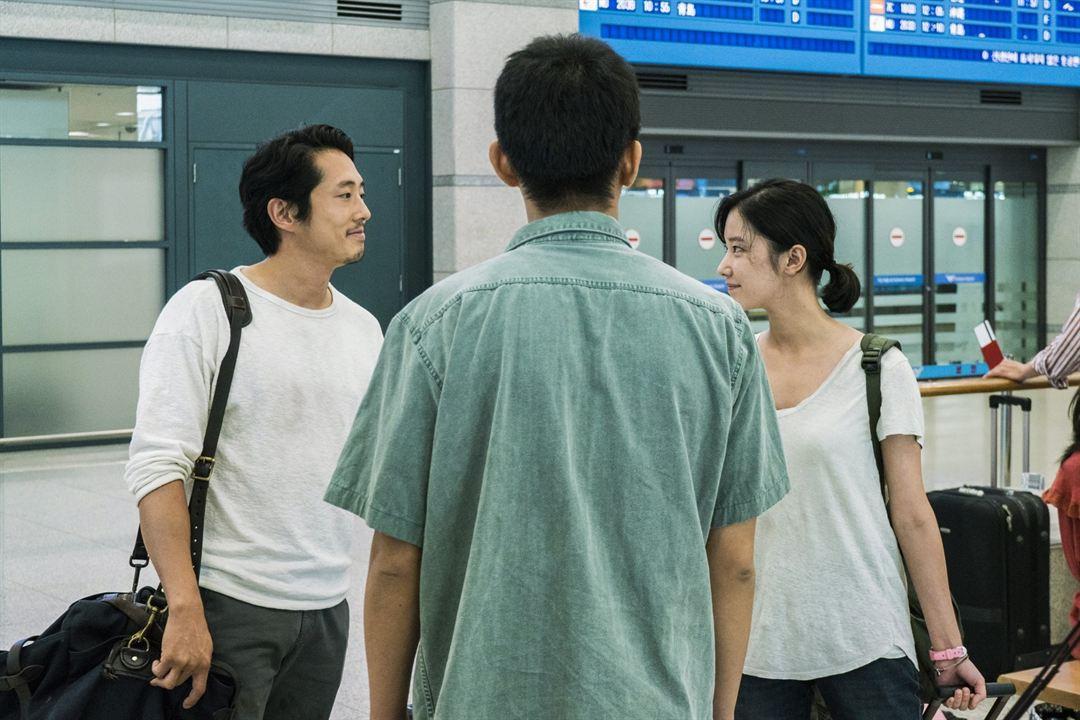 Burning : Bild Ah-In Yoo, Jeon Jong-seo, Steven Yeun