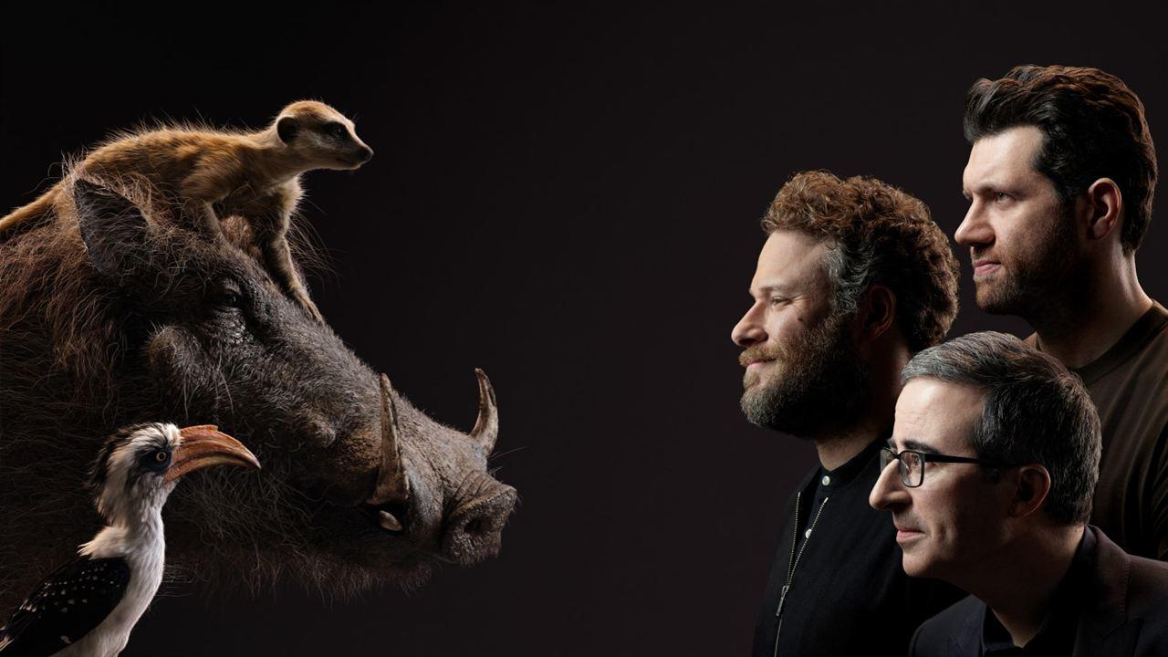 Der König der Löwen : Vignette (magazine) Billy Eichner, John Oliver, Seth Rogen
