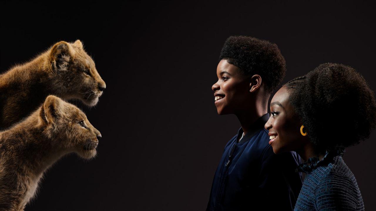 Der König der Löwen : Vignette (magazine) JD McCrary, Shahadi Wright Joseph