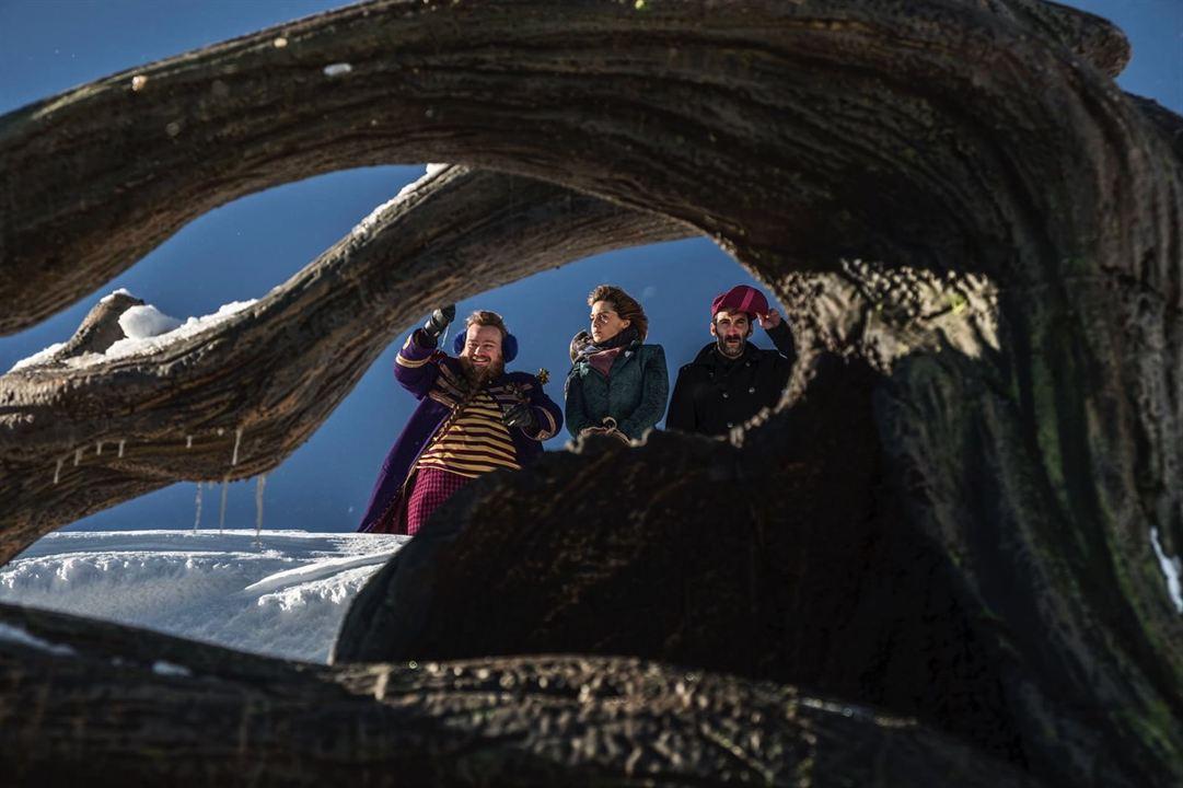 Unsere Lehrerin, die Weihnachtshexe : Bild Giuseppe Lo Piccolo, Paola Cortellesi, Stefano Fresi