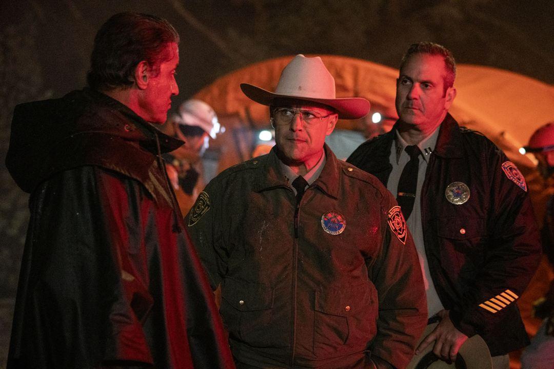 Rambo 5: Last Blood: Louis Mandylor, Sylvester Stallone