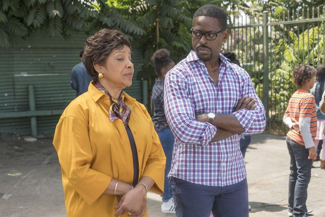 Bild Phylicia Rashad, Sterling K. Brown