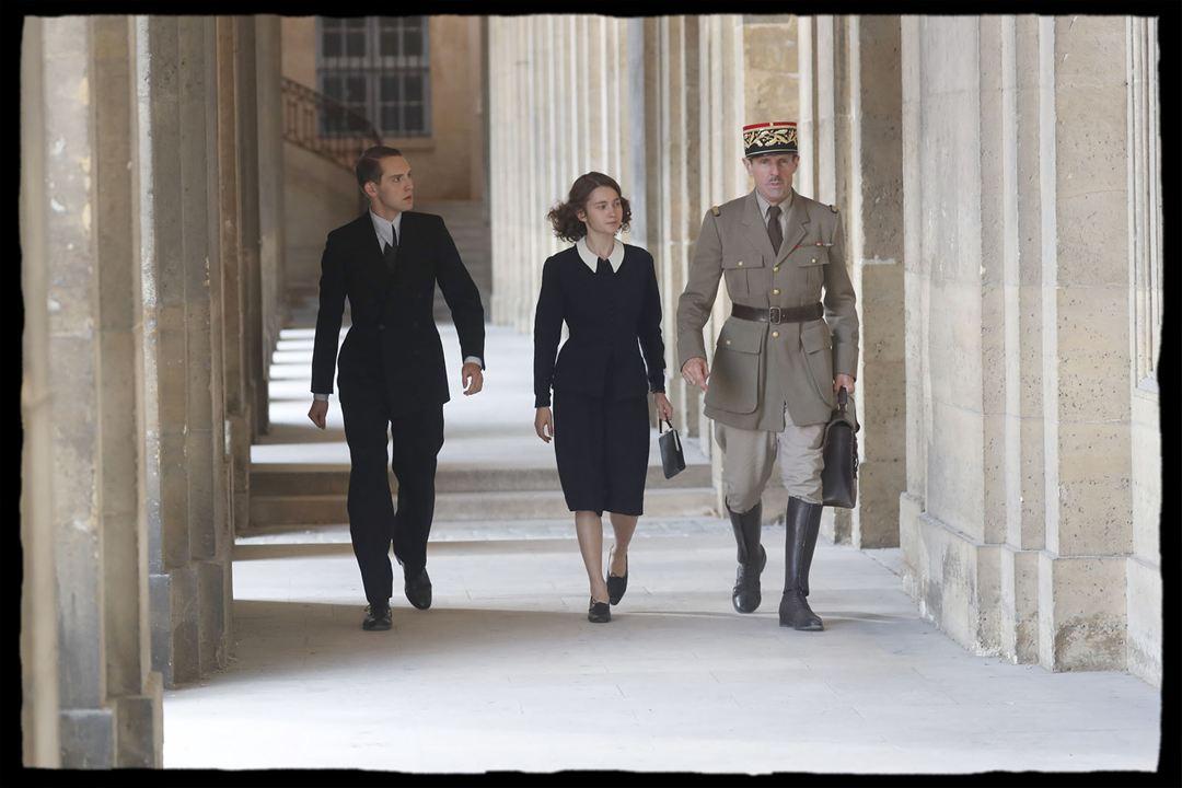 De Gaulle : Bild Isabelle Carré, Lambert Wilson