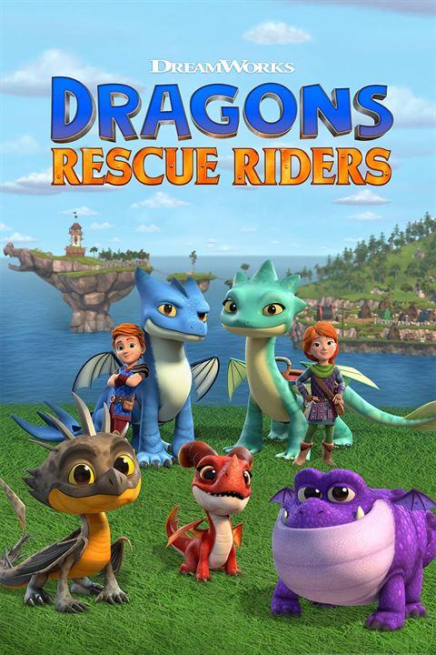 Dragons: Die jungen Drachenretter : Kinoposter