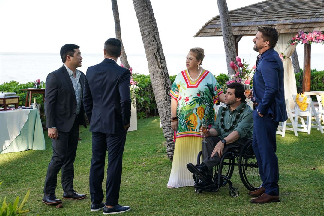 Bild Amy Hill, Christopher Thornton, Jay Hernandez, Tim Kang, Zachary Knighton