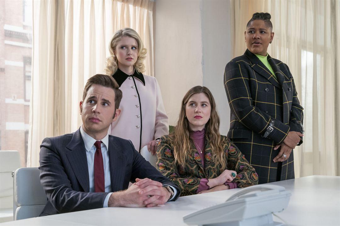 Bild Ben Platt, Julia Schlaepfer, Laura Dreyfuss, Rahne Jones