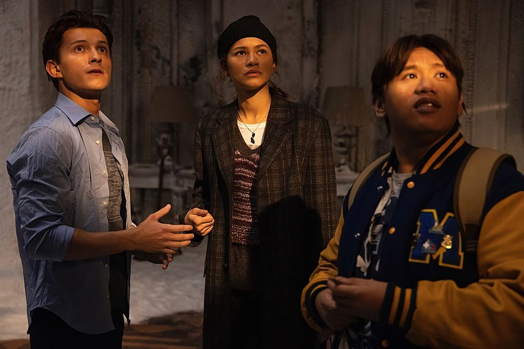 Spider-Man: No Way Home : Bild Jacob Batalon, Tom Holland, Zendaya