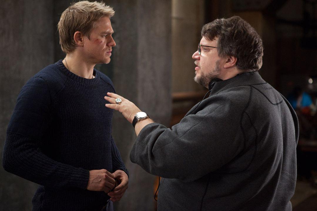 Pacific Rim: Charlie Hunnam, Guillermo del Toro