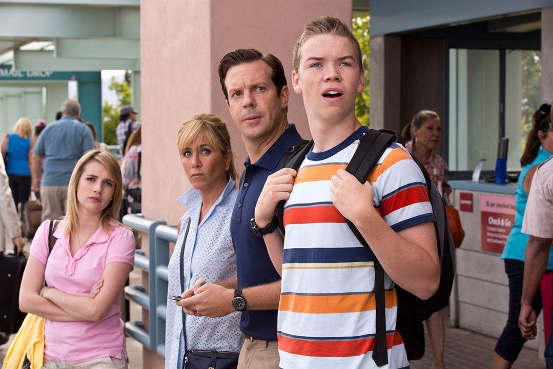 Wir sind die Millers: Jennifer Aniston, Emma Roberts, Jason Sudeikis, Will Poulter